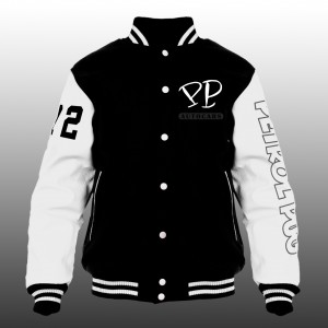 Petrol Pug Kids Mechanics Varsity Jacket