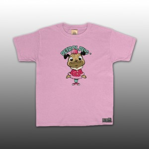 Petrol Pug Introducing Pinki Girls T-Shirt