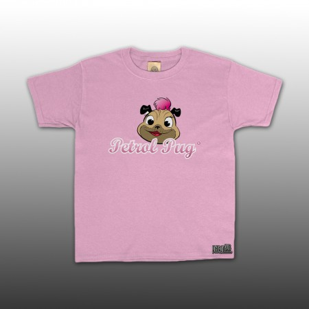 Girls Pinki Logo Kids Pink T-Shirt