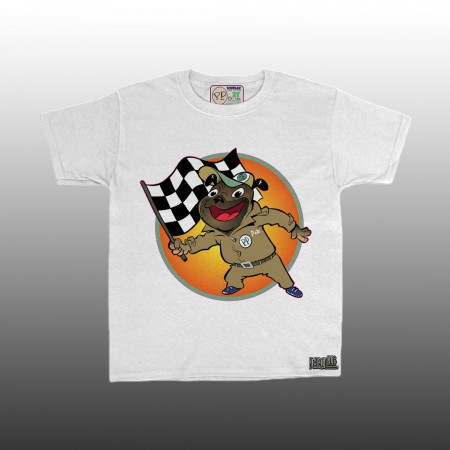 Petrol Pug Kids Toddlers Life in the Fast Lane T-Shirt