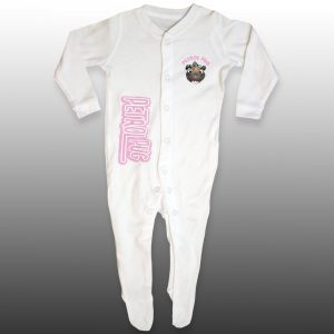 Baby Girls Cotton Onesie