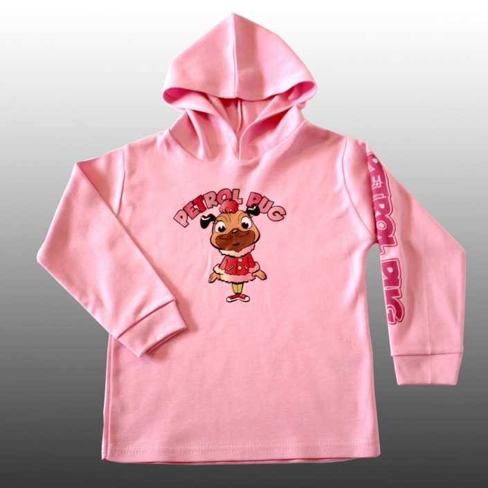 Baby Girls Cotton Hoodie