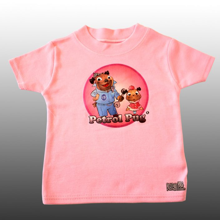 Dad-Daughter Baby Girls Cotton T-Shirt